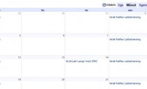 Kalender GLK